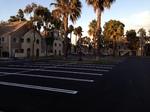City Service Paving asphalt parking lot striping